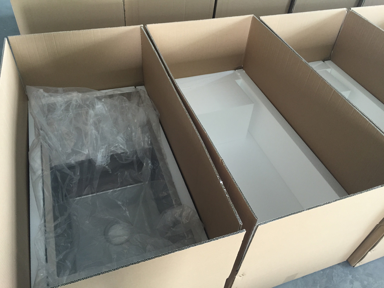 Individual Packing for topmount sink